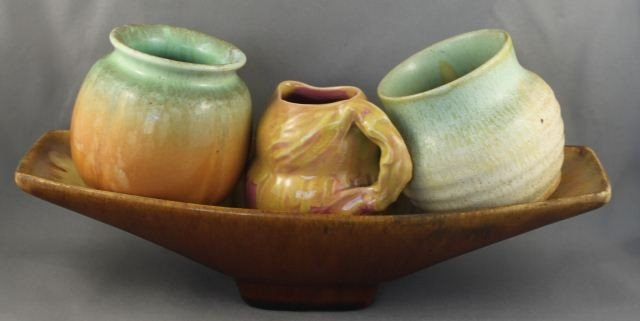 Nell McCredie Australian Pottery Dish, together