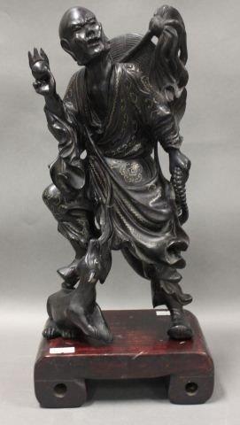 2: Quality Early Chinese Hardwood Figure,