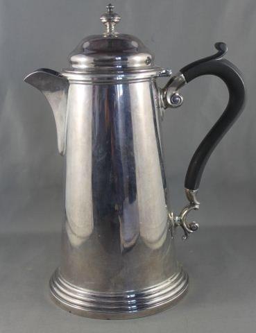 3: George VI Sterling Silver Teapot,