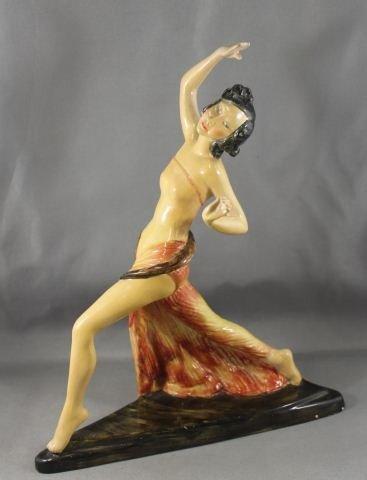 13: Unusual Wade Figure of a Flapper c1920,
