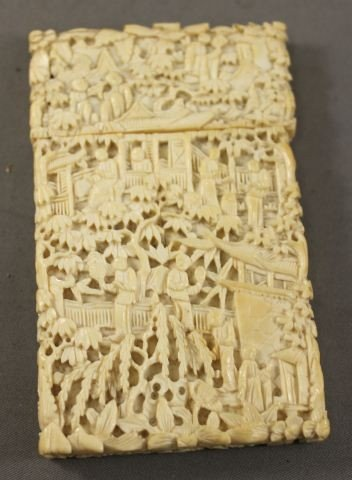 39: Chinese Ivory Card Case