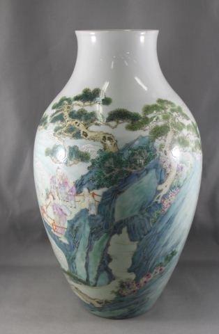 15A: Chinese Porcelain Vase,