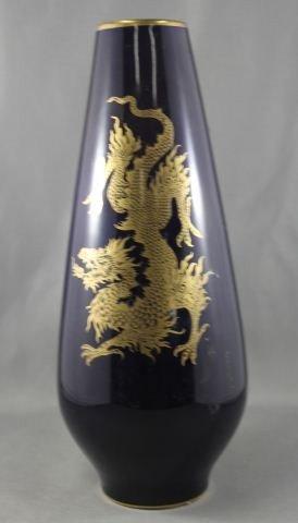 19A: German Porcelain Vase,
