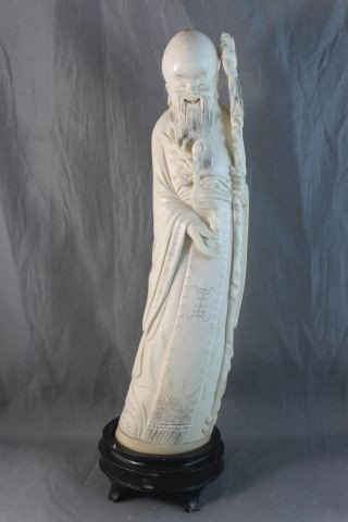 9: Good Chinese Carved Ivory Figure,