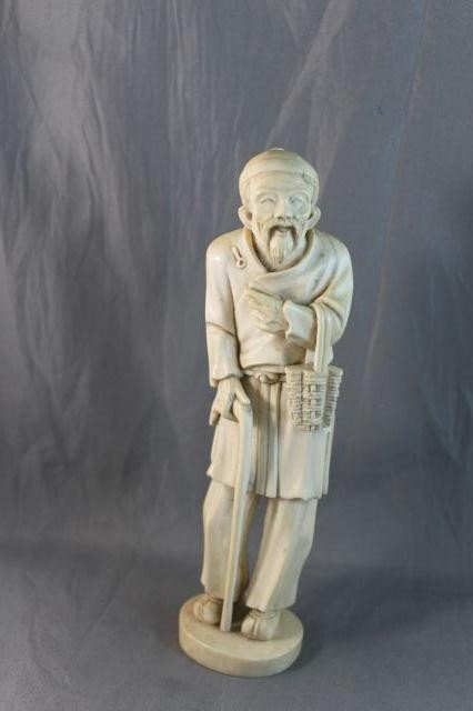 19: Good Chinese Carved Ivory Figure,