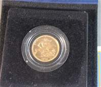 102 Royal Mint Proof 1979 Gold Sovereign