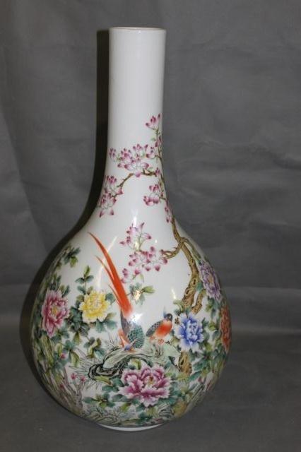 270: Good Large Chinese Porcelain Vase,