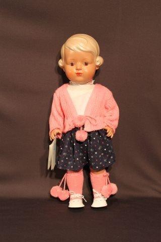 5: Schildkrot Celluloid Girl Doll 'Inge'