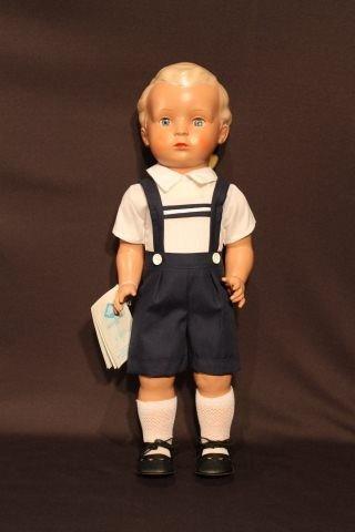6: Schildkrot Celluloid Boy Doll 'Hans'
