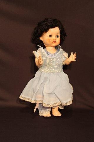 18: Hard Plastic Walker Doll