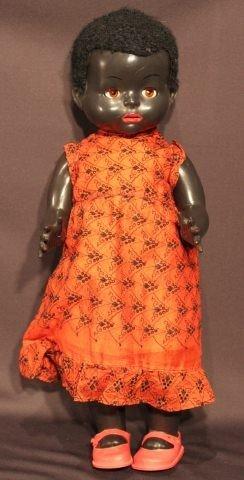 20: Hard Plastic Black Pedigree Walker Doll