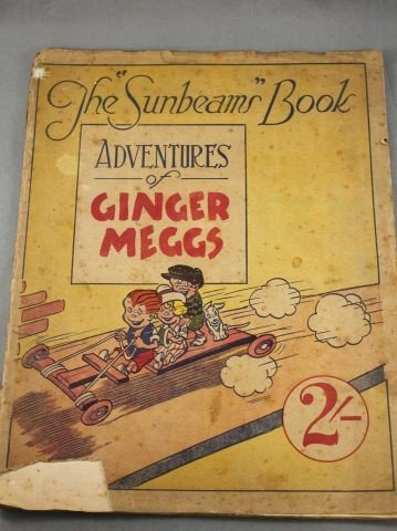 "19A: Very Rare ""The Sunbeams Book, Adventures of Ginger"