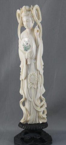10: Good Chinese Ivory Figure, c.1920