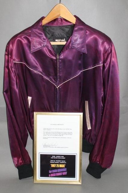 "275: Very Rare Johnny Cash Tour Jacket ""Silver 1980"" - 3"