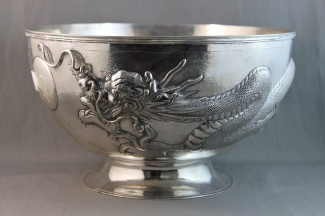 1: Wonderful Early 20th Century Chinese Silver Fruit
