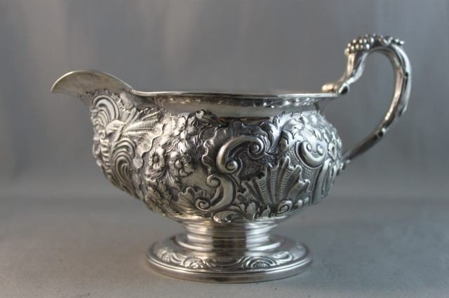 8: Early William IV Sterling Silver Creamer,