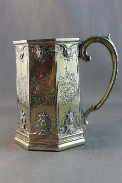 19: Wonderful Late Victorian Gilt Sterling Silver