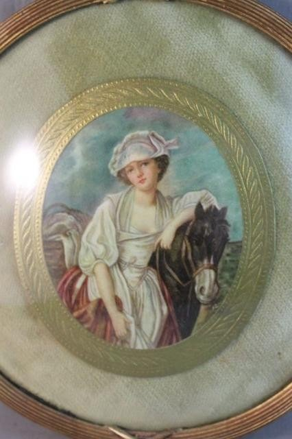 22: Good 19th Century Oval Portrait Miniature,