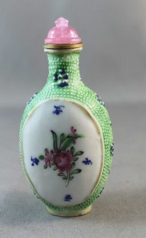 10: Chinese Porcelain Snuff Bottle,