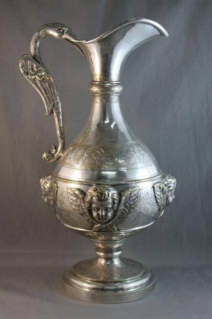 4: Beautiful Mid 19th Century French Christofle Ewer,