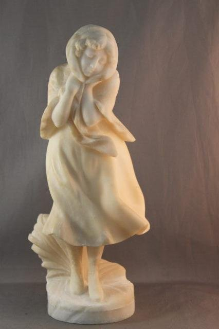 16: Early 20th Century Italian Alabaster Figure