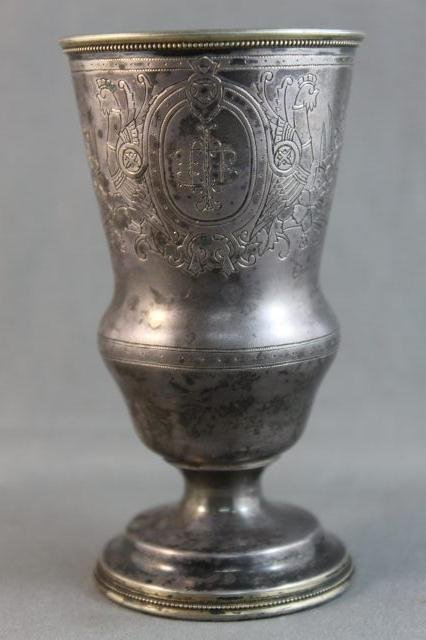 36: 19th Century Russian Silver Beaker,