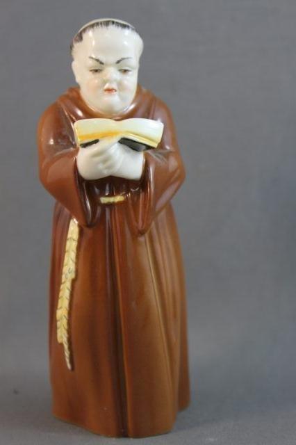 81: Royal Worcester Porcelain Candle Snuffer, c.1976