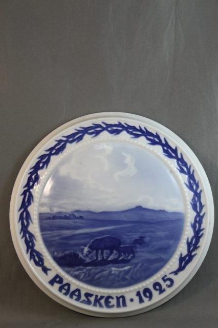 85: Bing and Grondahl Porcelain Easter Plaque,