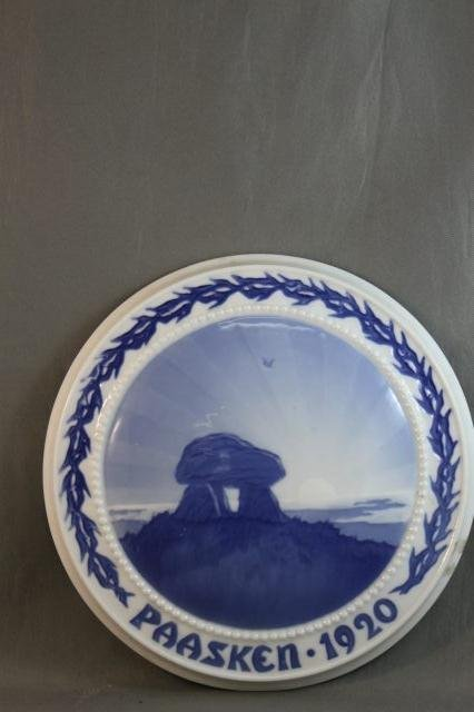 86: Bing and Grondahl Porcelain Easter Plaque,