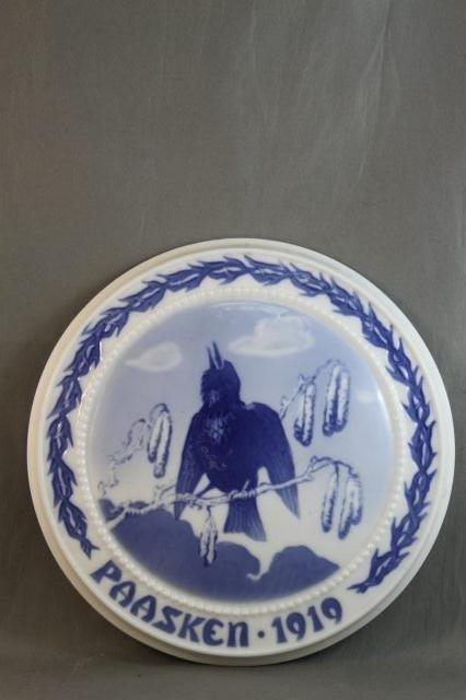 87: Bing and Grondahl Porcelain Easter Plaque,