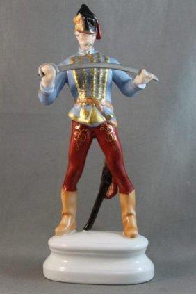 Herend Porcelain Figurine,
