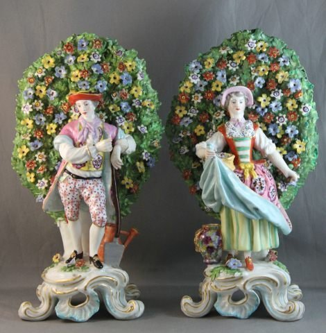 103: Pair of 19th Century English Porcelain Figures,