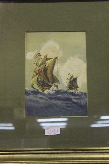 313A: Maritime Painting,
