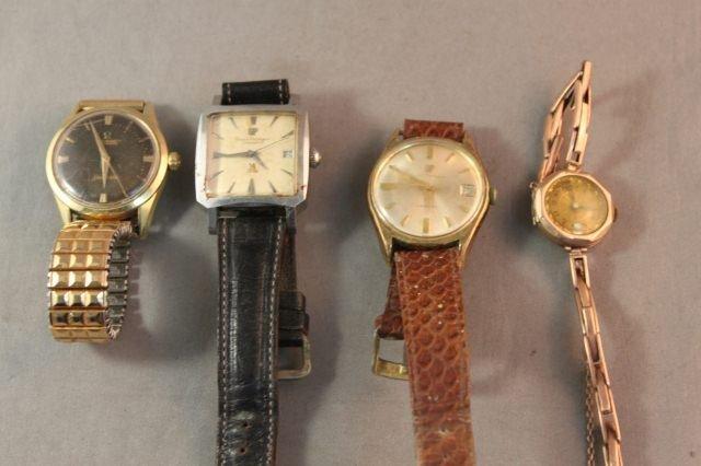330C: Selection of Vintage Girard Perregaux Wristwatche
