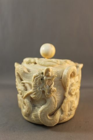 10: Chinese Qing Dynasty, 19th Century Ivory Box and