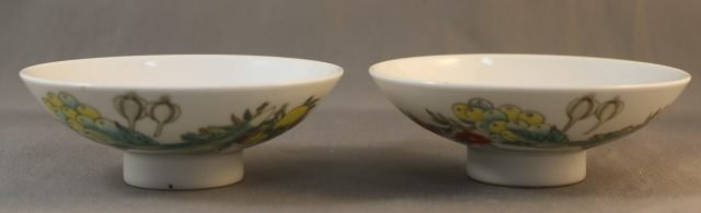 16: Pair of Chinese Porcelain Dishes,