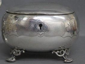Austro-Hungarian Silver Casket,