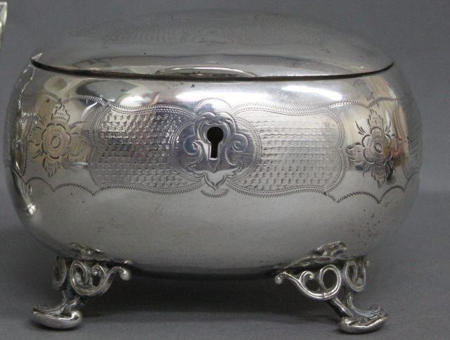 2: Austro-Hungarian Silver Casket,