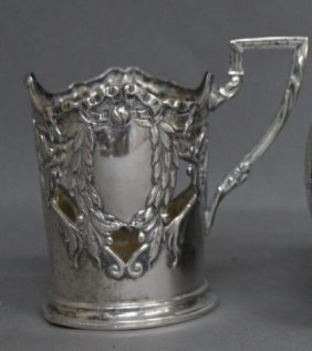 3: Austro-Hungarian Silver Cup Holder,