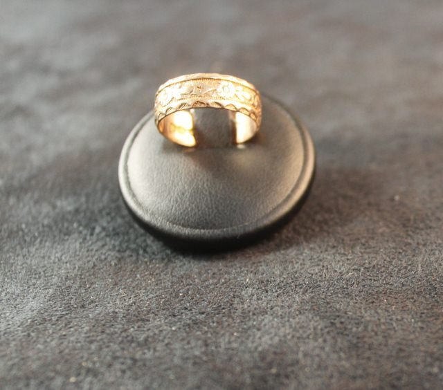 148: Victorian 18ct Gold Wedding Ring,