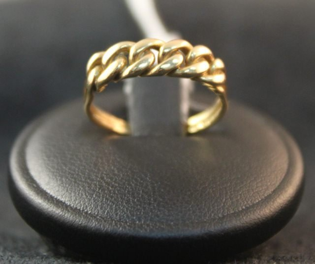 149: Victorian 18ct Knot Ring, c.1876