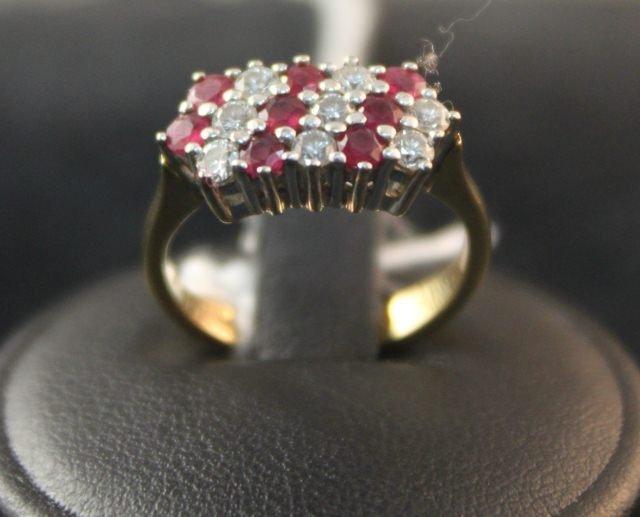 153: Ladies 18 Carat Dress Ring,