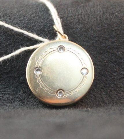 155: Unmarked But Probably 9 Carat Locket