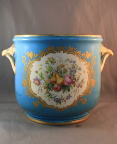 5: 19th Century French Porcelain Twin Handled