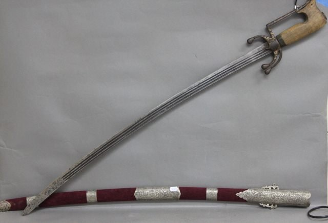 12: North African Nimcha Sword,