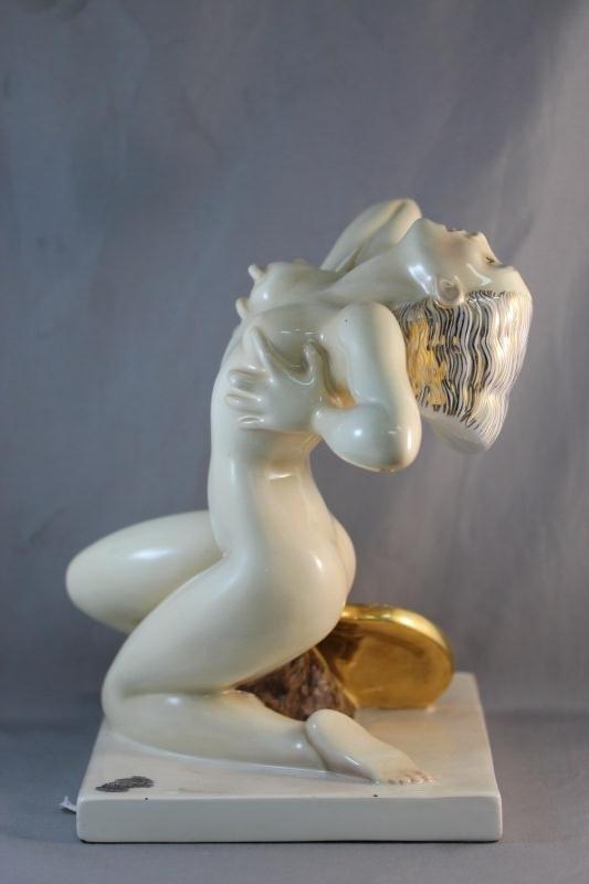 12: Italian Ceramic Figure, - 4