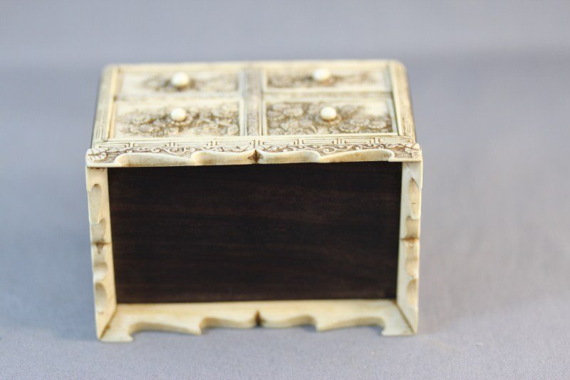 19: Exquisite Chinese Qing Dynasty Ivory and Wood - 6