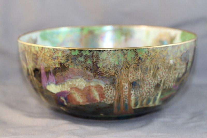 9A: Wedgwood Fairyland Lustre Bowl, c 1920,