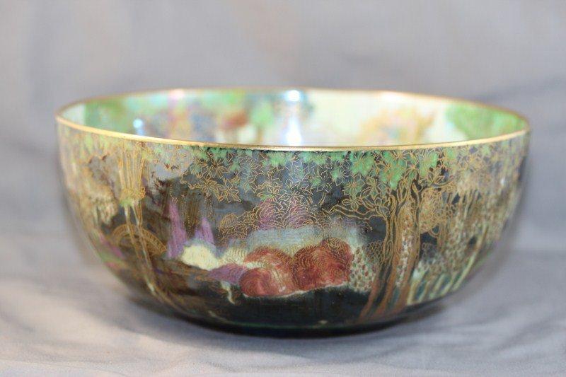 9A: Wedgwood Fairyland Lustre Bowl, c 1920, - 2