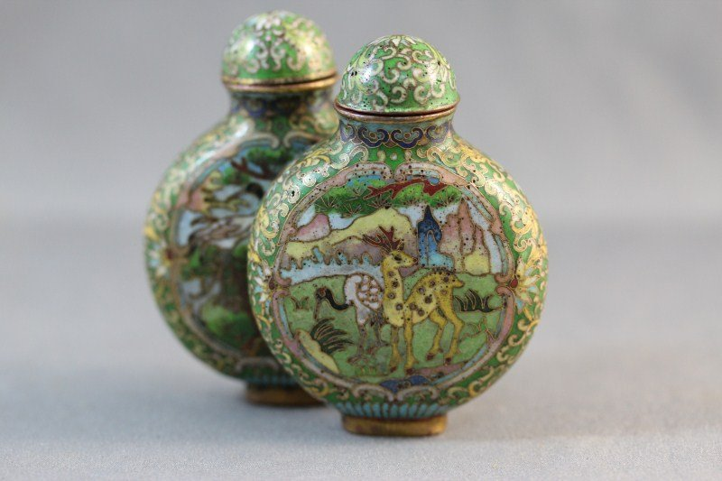 10: Good Chinese Qing Dynasty, 18th Century Double